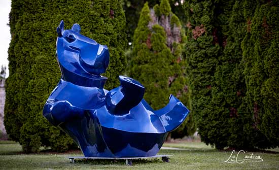 Exposition de sculptures - Chateau de Gilly